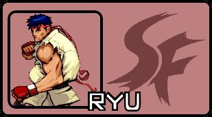 Super Smash Flash 2 - Ryu Character Card by SputnikMann