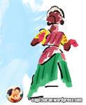 thanjore doll - thanjavur thalaiyatti bommai