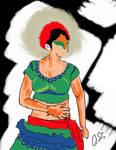 Tamil nadu Dance Digital Art