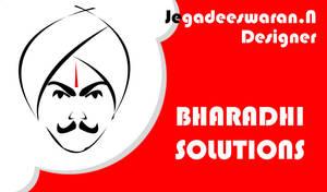 Bharathi businessCard front