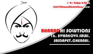 Bharathi businessCard back