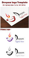 DEEPAM LOGO TEMPLATE FREE DOWNLOAD (EPS, PSD, PNG)
