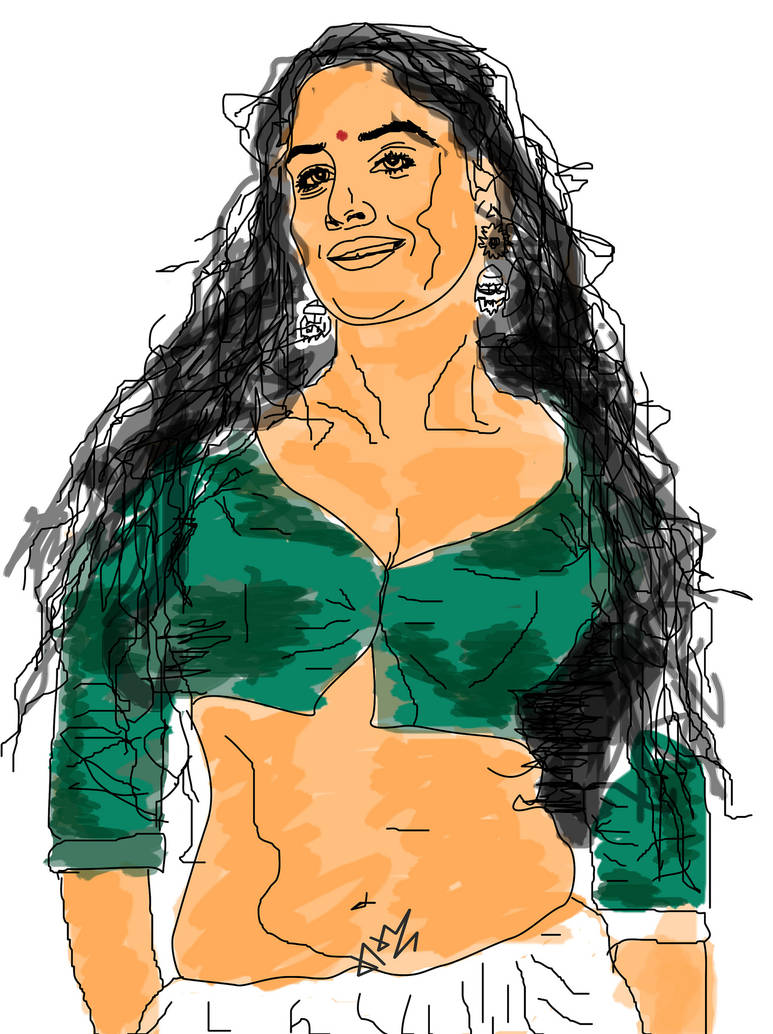 vidya balan (Indian Actress)
