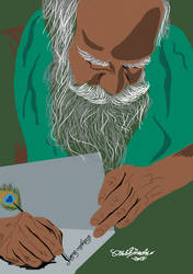 G. Nammalvar digital painting free download