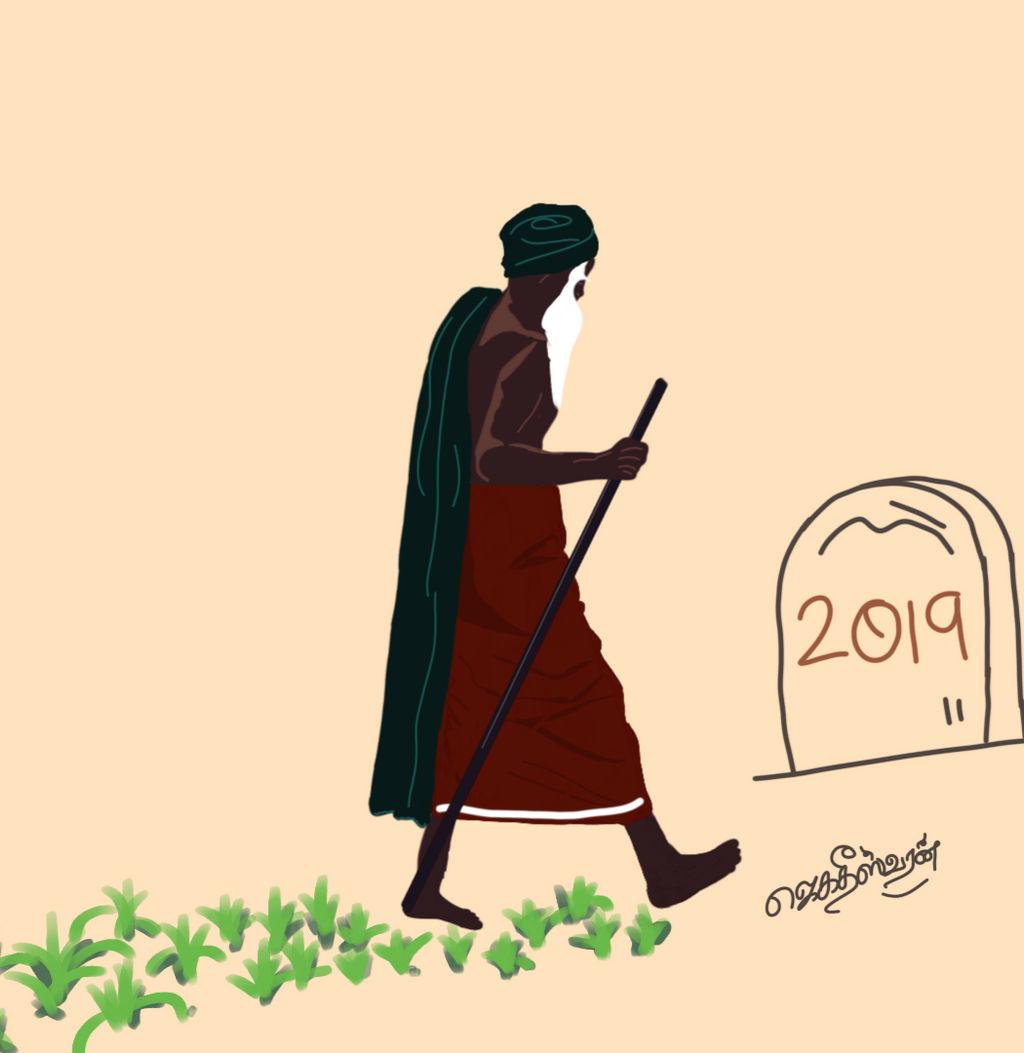 Nammalvar activist farmer