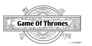 Game of thrones logo design