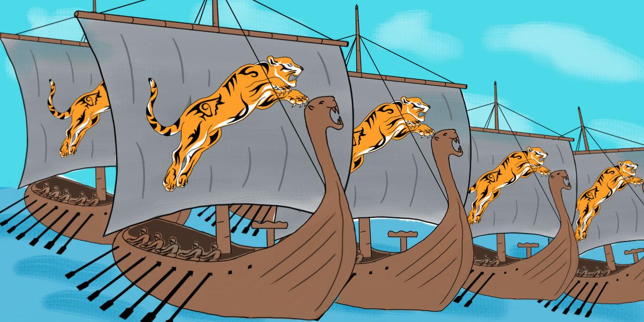 Chola war ships