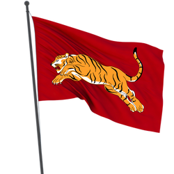 Chola flag tiger