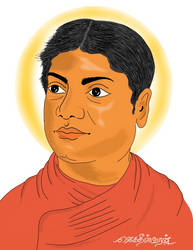 Vivekananda Digital Painting