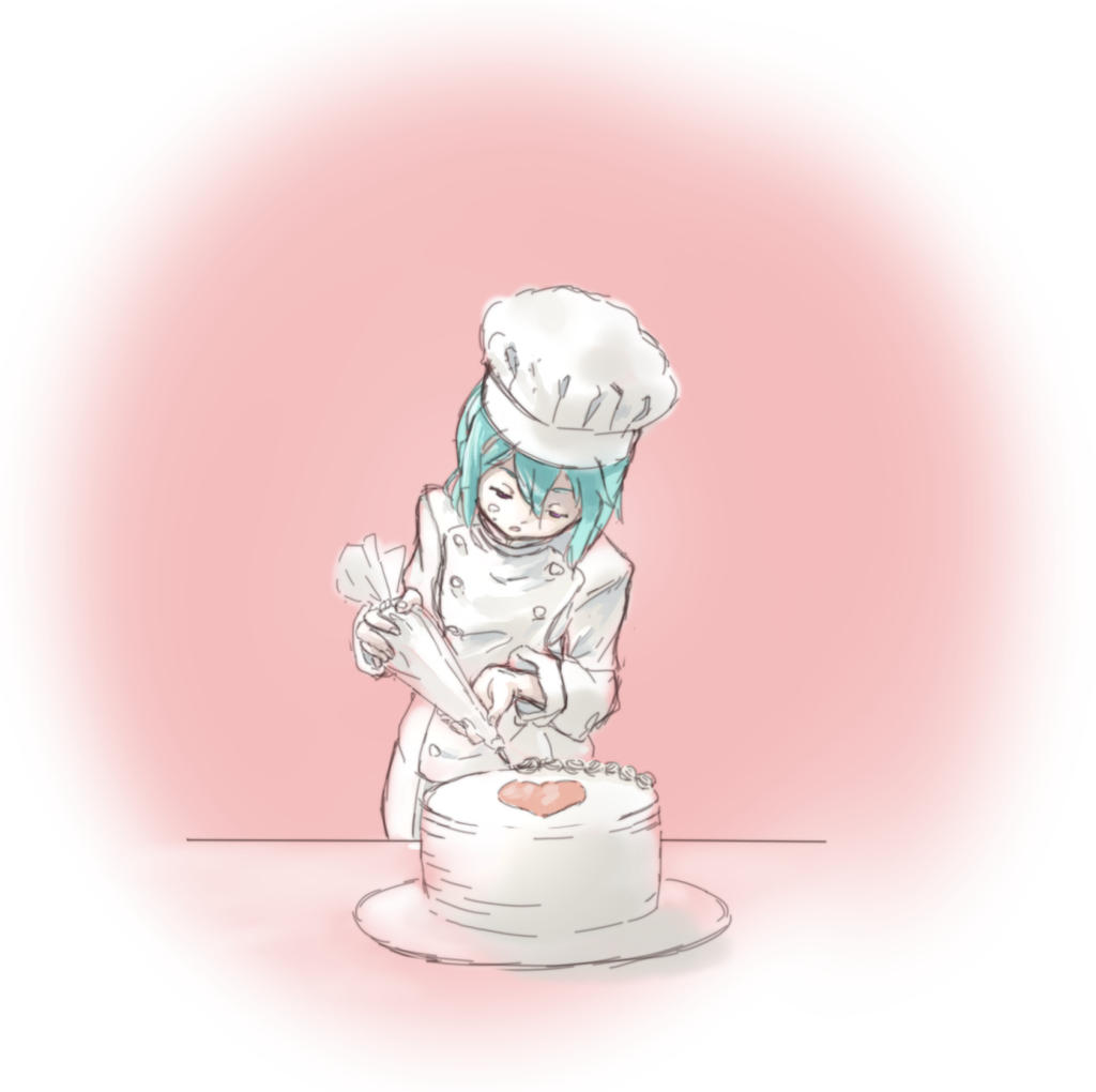 Pastry Chef Eureka by Balrith on DeviantArt
