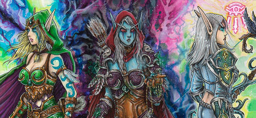 Windrunner-Sisters Coloration by SarahPilz