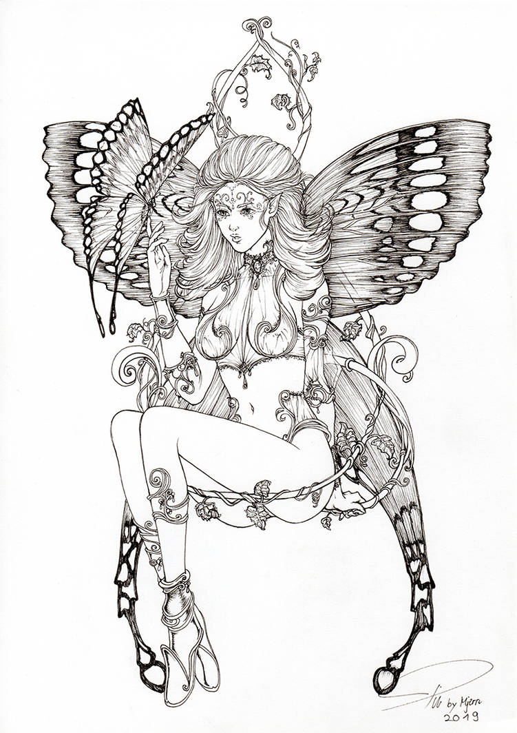 Butterfly-Fairy by SarahPilz