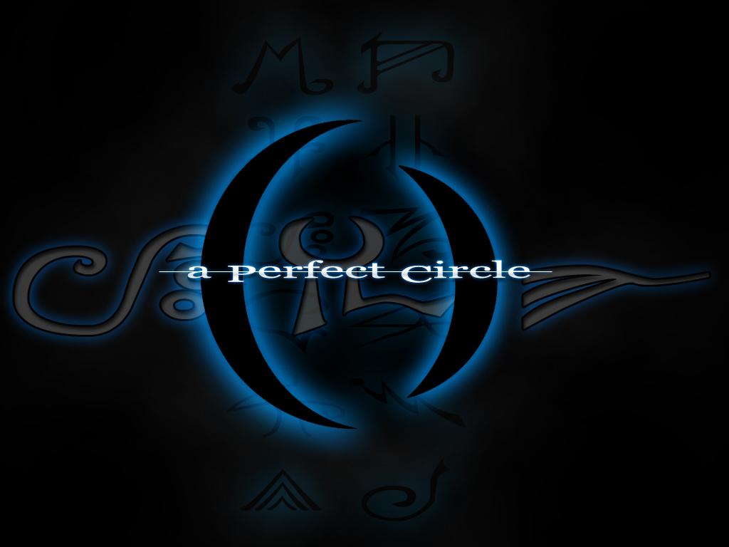 A Perfect Blue and Grey Circle