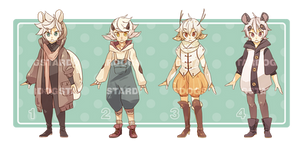 kemonomimi adoptables auction [CLOSED]