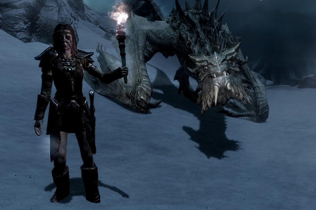 Aela the huntress - Paarthurnax- Skyrim by MissGe on ...