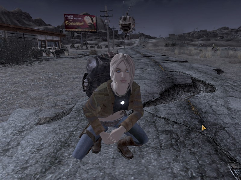 willow fallout new vegas nude