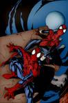 Spiderman y Spidergirl