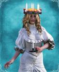 Christine as Santa Lucia by Timebird