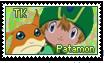 TK and Patamon Stamp