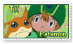 TK and Patamon Stamp by funlakota