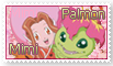 Mimi and Palmon Stamp by funlakota