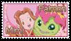 Mimi and Palmon Stamp by funlakota