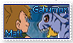 Matt and Gabumon Stamp