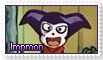 Impmon Stamp by funlakota