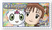 Jeri and Calumon Stamp by funlakota