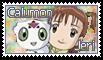 Jeri and Calumon Stamp by funlakota