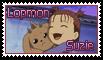 Suzie and Lopmon Stamp