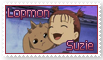 Suzie and Lopmon Stamp by funlakota