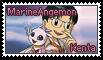 Kenta and MarineAngemon Stamp