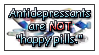 Antidepressants stamp by funlakota