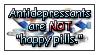 Antidepressants stamp by funlakota