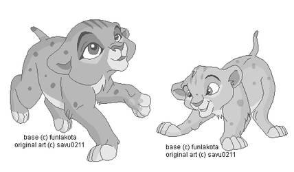 Baby Cubs From Savu's Comic by funlakota