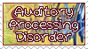 Auditory Processing Disorder Stamp by funlakota