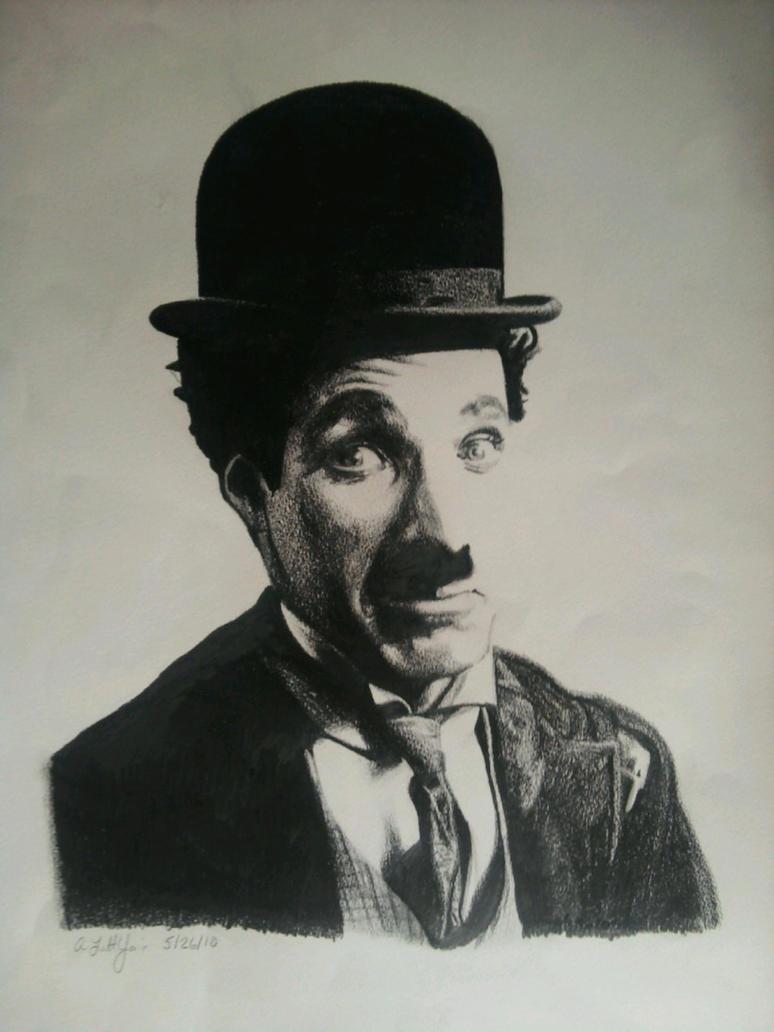 "ROMANTIKA BEZ REČI "" - Page 3 Charlie_Chaplin_by_manjeeboo"