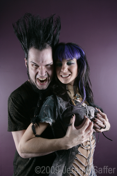 Wayne and Tera Wray Static by JeremySaffer