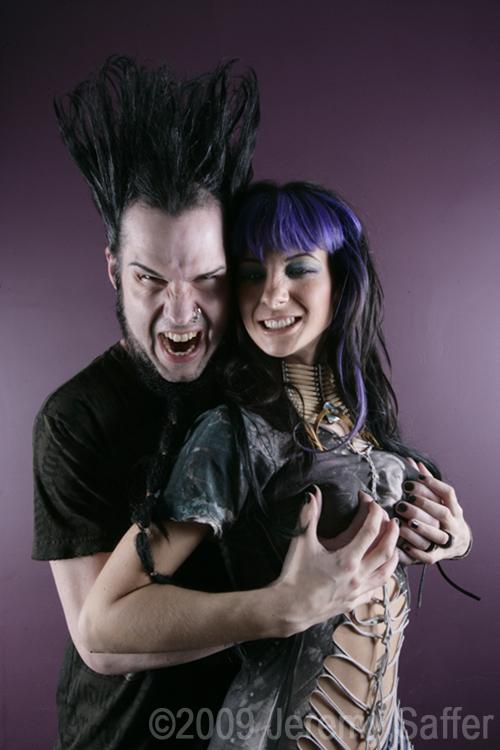 Wayne and Tera Wray Static by JeremySaffer