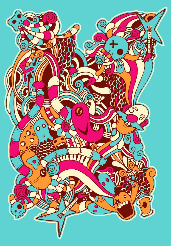 Rhythm Art Imagination by msabas on DeviantArt