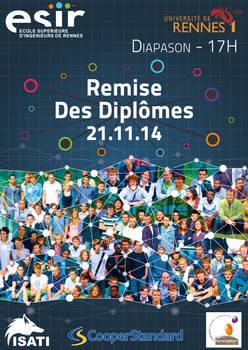 Remise Des Diplomes ESIR 2014