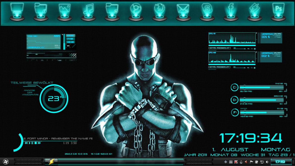 desktop august by 666ReDsKuLl666
