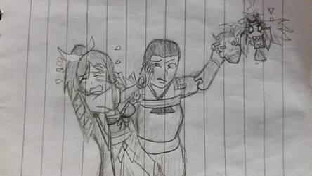 Shun Masaki meets Murakumo