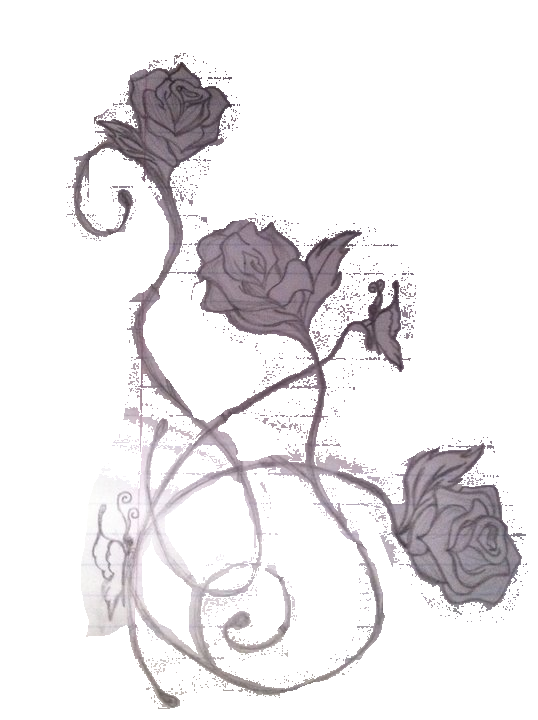 modified rose tattoo design by getsutora on deviantart. Black Bedroom Furniture Sets. Home Design Ideas