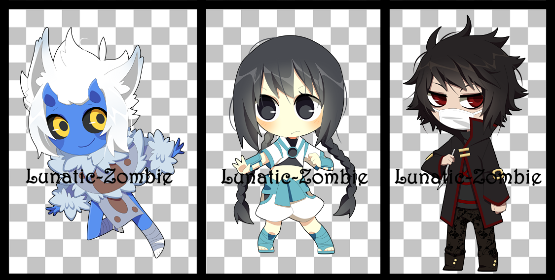 Chibi Commissions 2 by MADoptables