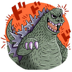 Godzilla by DonPanteon