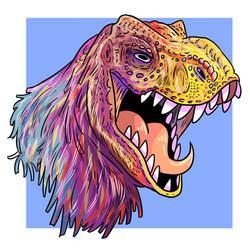 Tiranosaurus by DonPanteon