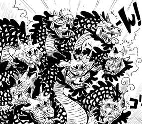 Kurozumi Orochi by DonPanteon