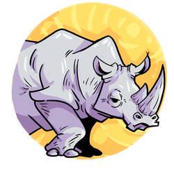Rinoceronte blanco by DonPanteon